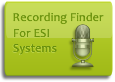 If you have an ESI Communications Server or IP-900 business telephone system equipped with call logging, this application will provide you with unrivaled speed, power, and ease-of-use both for searching for calls and call archiving.
