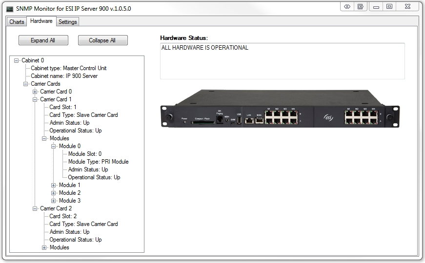 Snmp Monitor For Esi Ip Server 900 Brain Herd Software